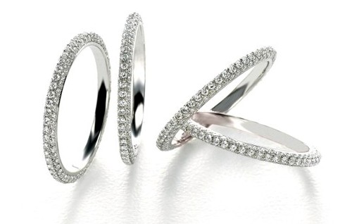Ivanka Trump Diamond Bands