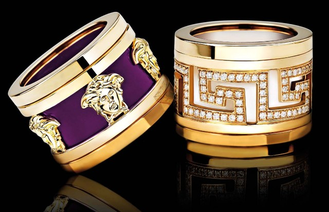 Luxury Versace Diamond Jewelry