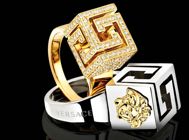 Versace Luxury Diamond Rings