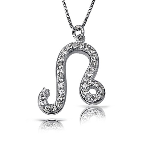 Zodiac Leo Diamond Necklace